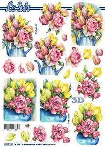 Bilde av 3D ark - Blomster