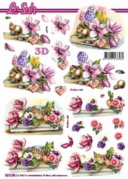 3D ark - Vårblommster