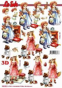 Bilde av 3D ark - Dukker