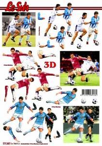 Bilde av 3D ark - Fotball