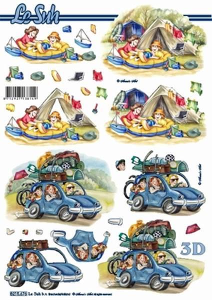 3D ark - Telttur