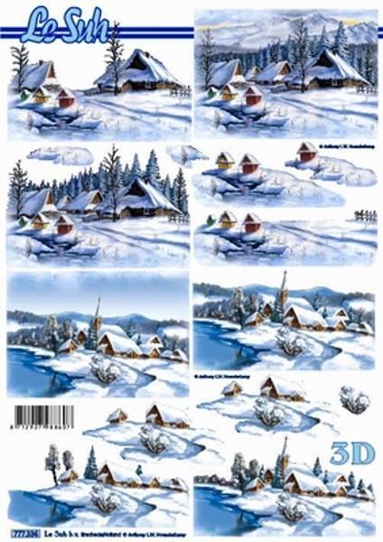 3D ark - Vinterlandskap