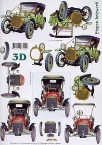Bilde av 3D ark - gammel bil